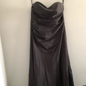 🔥 Alfred Angelo Strapless Black Gown 14 🔥